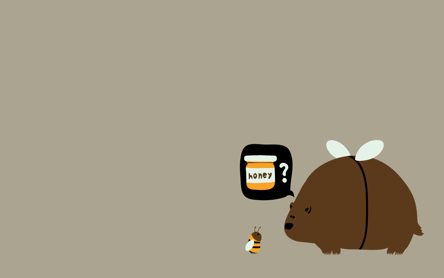 Cute Bees Wallpaper List Nation Wallpapers 33 Minimalist Funny Wallpapers