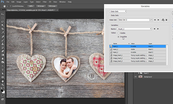 Easy Way to Automate Photoshop with Variables (Part 4)