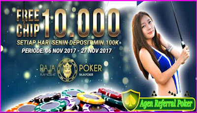 BONUS DEPOSIT 10% FOR NEW MEMBER DARI RAJAPOKER