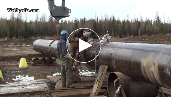 SMAW pipeline welding with downhill progression | Welpedia