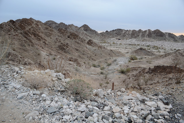 trail and tailings