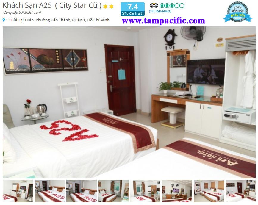 Khách sạn A25 City Star cũ