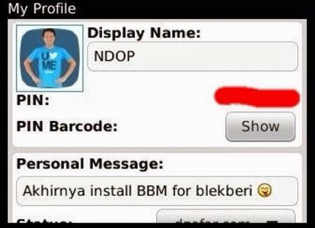 BBM blackberry