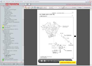 Toyota Land Cruiser Prado 120-125 workshop manual