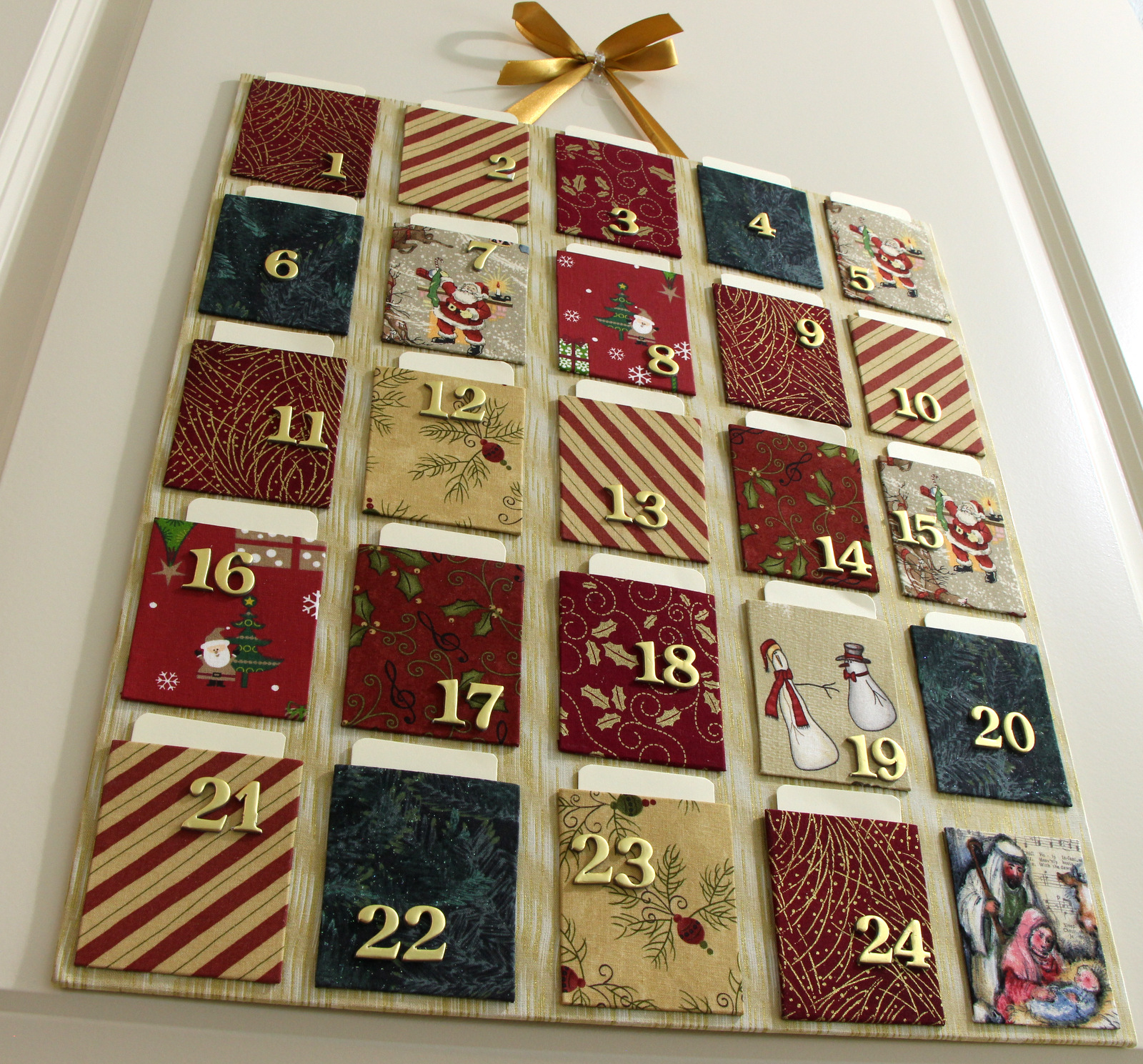 Colorway cartonnage have fun making great christmas gifts for Advent calendar decoration