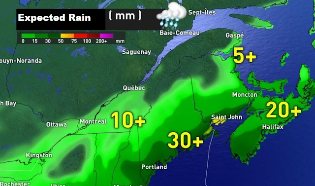 Snowfall Warning: A strong storm is heading towards Quebec