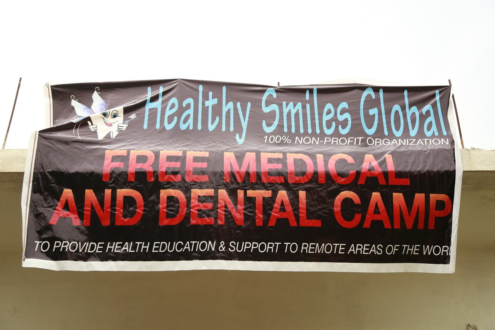 Helping Dentists!: Dental and Medical Volunteer Camp in
