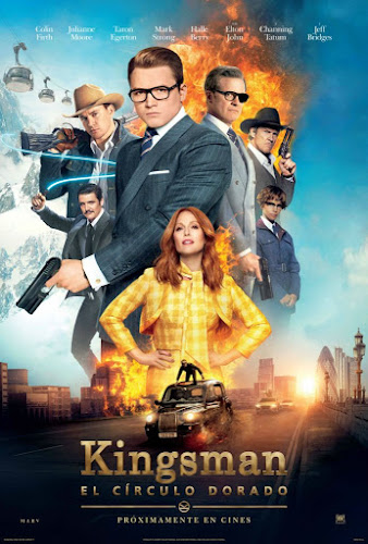Kingsman: The Golden Circle (BRRip 1080p Dual Latino / Ingles) (2017)