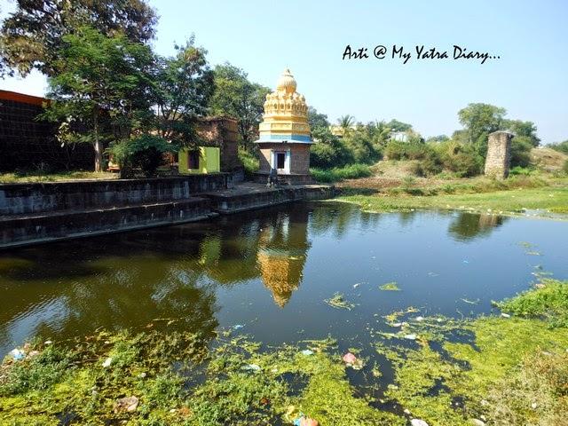 Adjoining Temple of the Sangameshwar Shiva Temple, Saswad, Pune