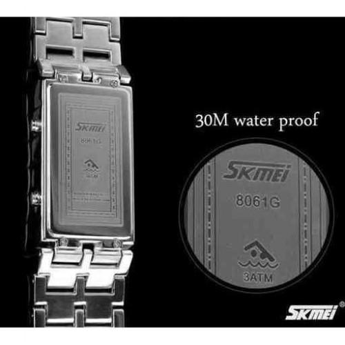 Jam Tangan LED SKMEI Iron Samurai Original WR30M
