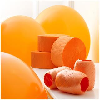 Orange Decorating Kit for Thanksgiving Day