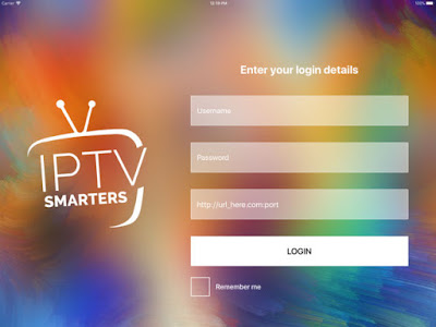 iptv smarters pro username and password 05-11-2018