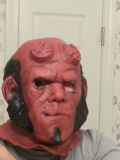 Me in Hell Boy Mask