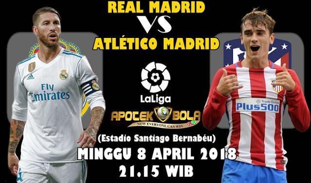 Prediksi Real Madrid vs Atletico Madrid 8 April 2018
