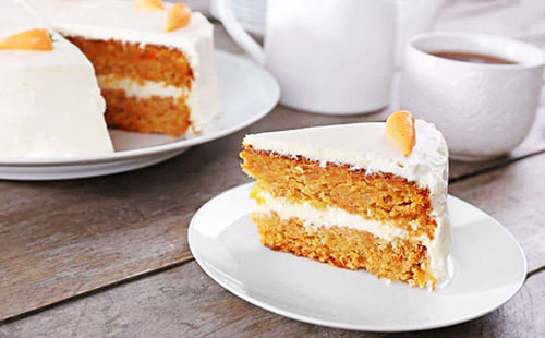 spicy-juicy carrot cake