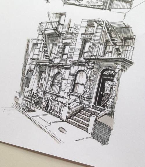 07-Flats-in-a-Busy-City-Phoebe-Atkey-Architecture-Urban-Drawings-and-Interior-Design-Sketches-www-designstack-co