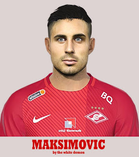 PES 2019 Faces Nikola Maksimović by Jarray & The White Demon
