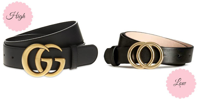 High vs. Low: Gucci Double G Interlocking Logo Buckle Belt dupe for  under 10€ you don't want to miss | Ioanna's Notebook