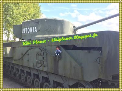 char britannique Astonia Churchill MK VII seconde guerre mondiale débarquement normandie Fontaine la Mallet