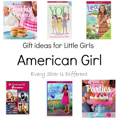 American Girl themed gift ideas for girls.
