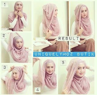 isu terkini fashion hijab sedang mewabah Indonesia 35 Cara Memakai Jilbab Pashmina Simple Kreasi Terbaru 2018