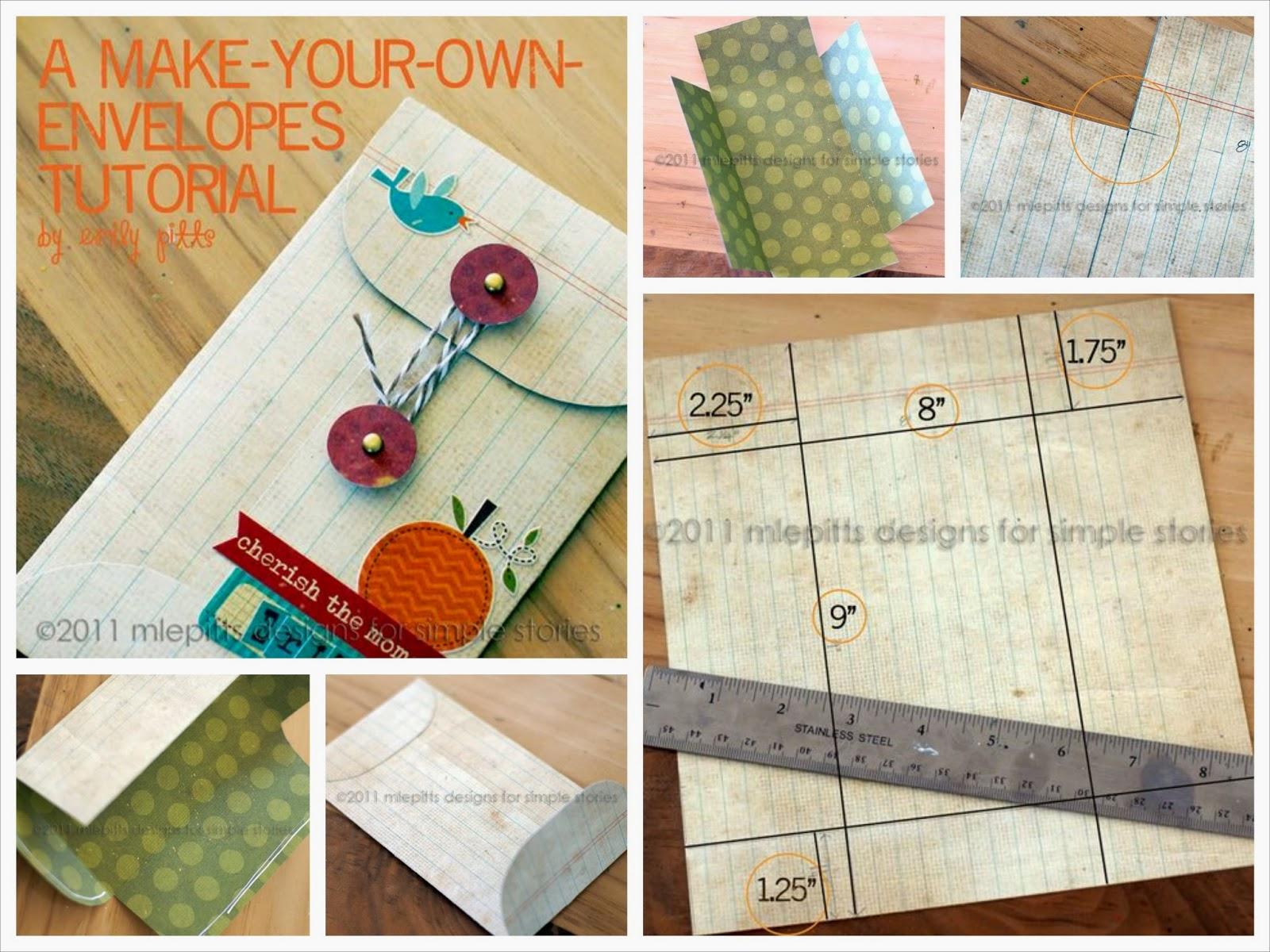 Hacer un bonito sobre con arandela y adornos scrap de papel and free printable tags