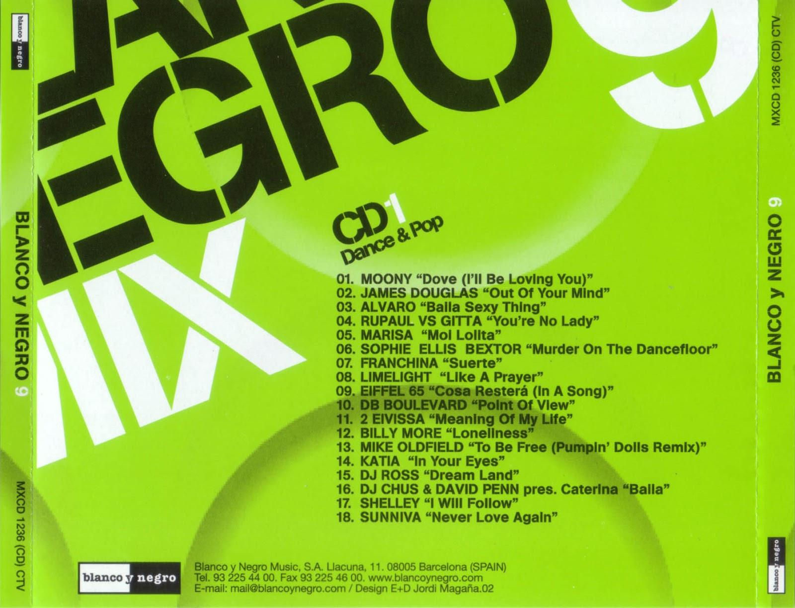 dance of the 90's: Blanco y Negro Mix 9