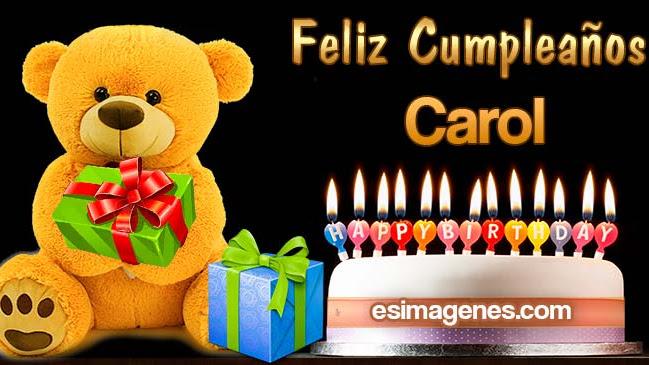 Feliz Cumpleaños Carol
