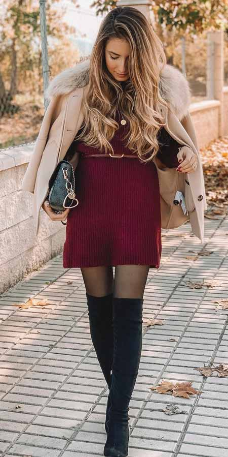 Searching for Stylish Christmas Clothes? Check out these 33+ Party Perfect Cute Christmas Outfits for Women. #christmas #party #style #styleinspiration