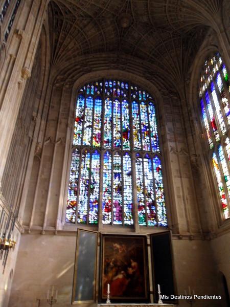 La Adoración de los Reyes Magos (Capilla del King's College, Cambridge)