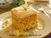 Ryžový nákyp s mrkvou a ananásom - recept