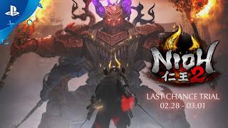 Nioh 2 - novo trecho de gameplay