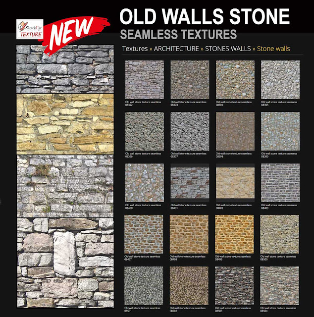 free ancient medieval stone walls textures seamless