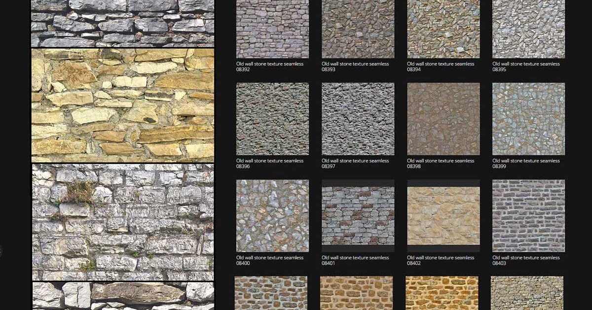 Amazing free old walls stone textures seamless vray sketchup tut