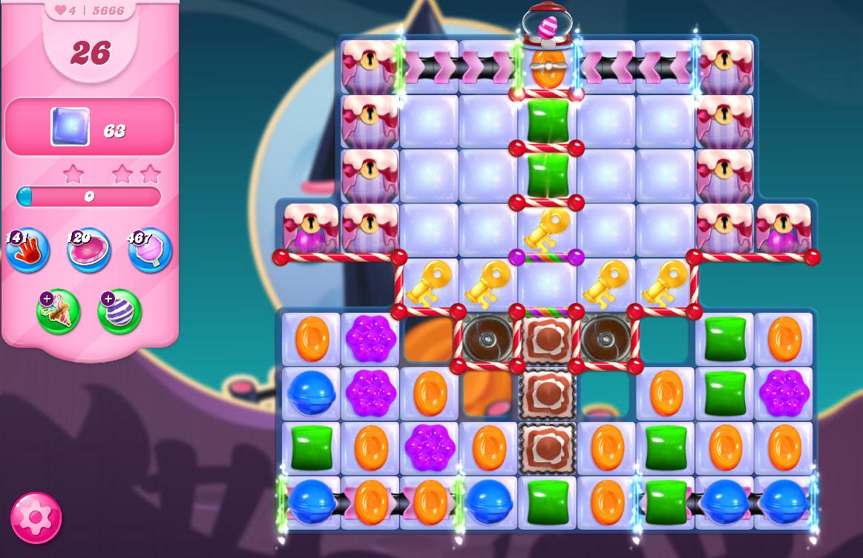 Candy Crush Saga level 5666