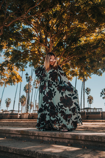 Nuuly, clothing rental, subscription box, fashion, Free People Hearts Run Wild Maxi Dress