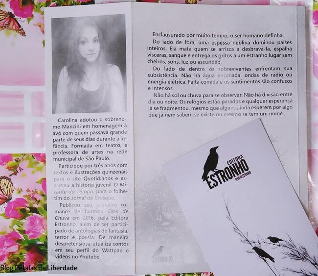 Resenha, livro, Nihil, Carolina-Mancini, Estronho, sinopse