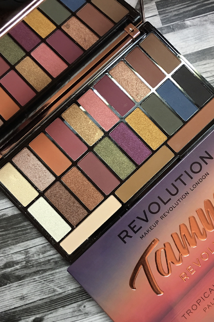 Revolution Beauty X Tammi Tropical Paradise (Review and Swatches)