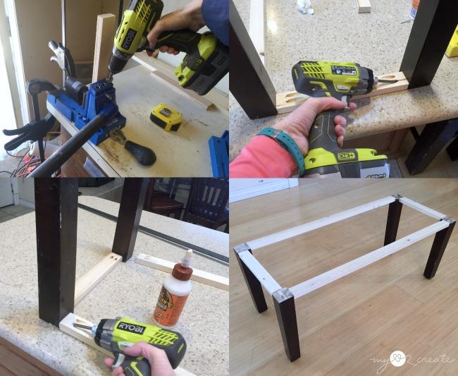 building bench base