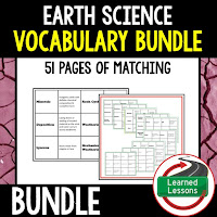 Earth Science Vocabulary Games