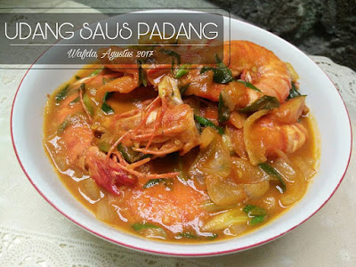 Resep Udang Saus Padang By @dapurwafda