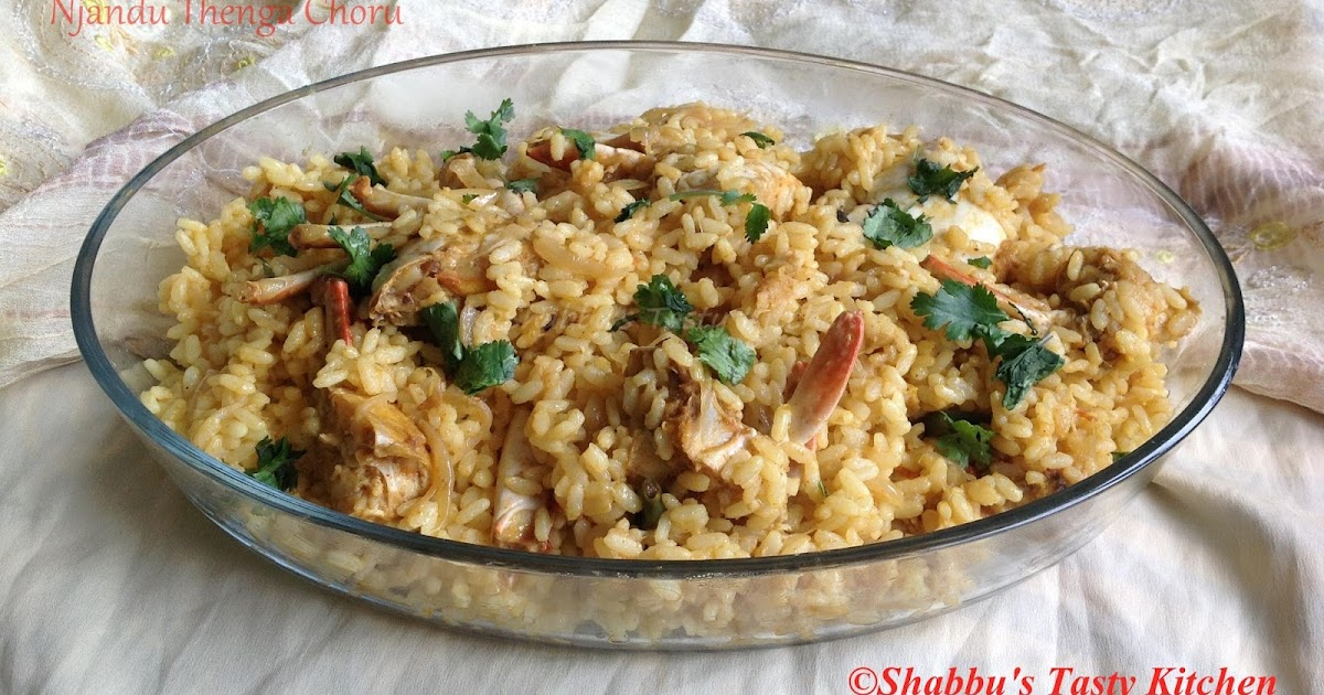 Coconut Crab Rice Recipe — Dishmaps
