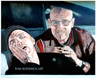 Learning Curve by Boulder portrait artist Tom Roderick