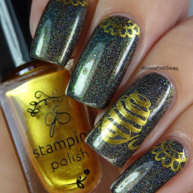 Bee's Knees Lacquer - Hela Holo
