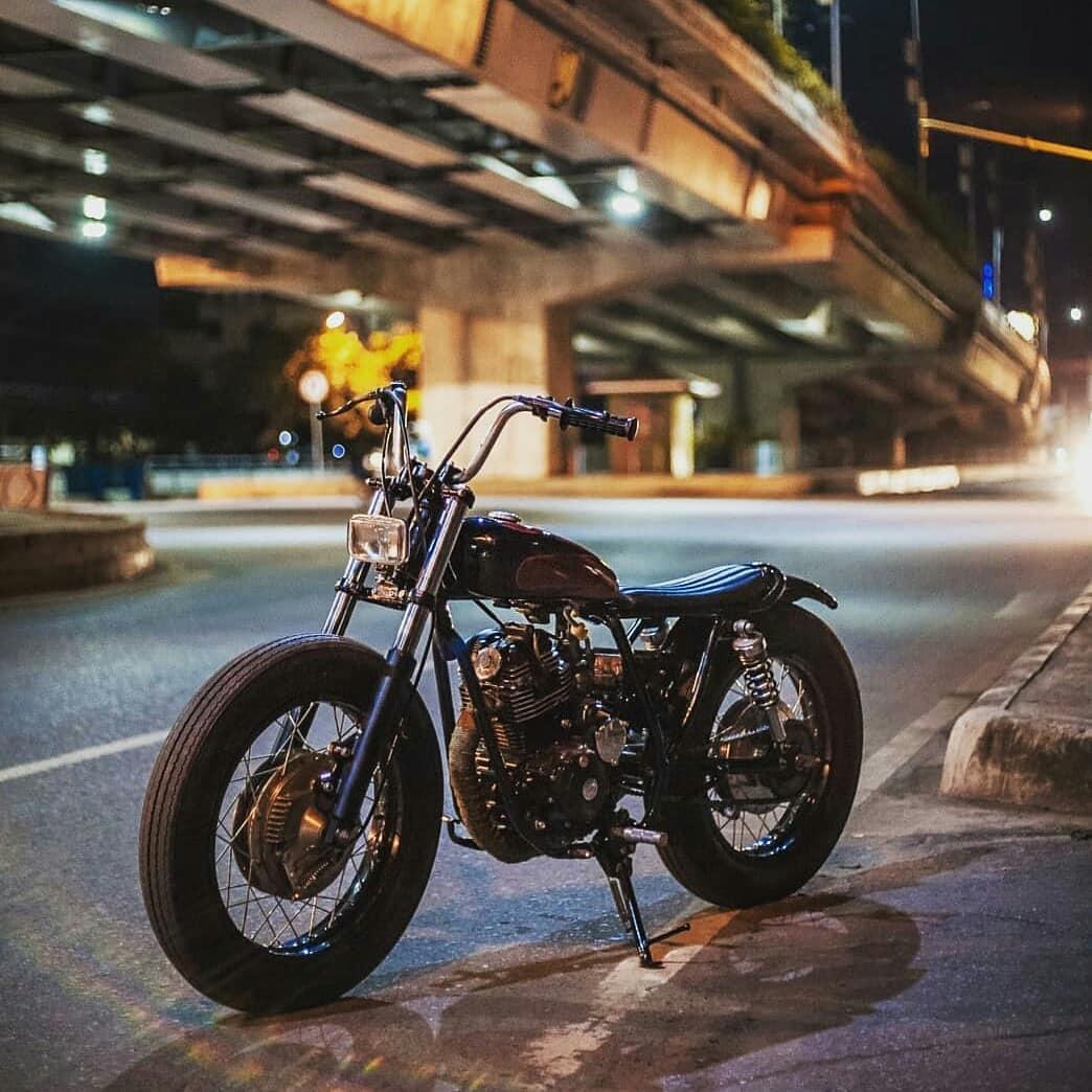 Yamaha Scorpio 225z Bratstyle