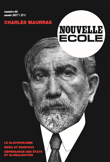 Nouvelle Ecole 66 Charles Maurras Alain de Benoist