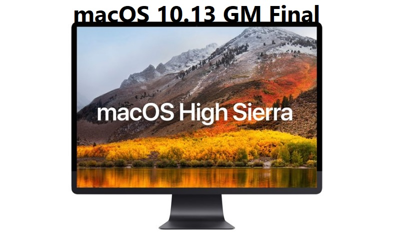 Download macOS 10.13 High Sierra GM Final DMG Files