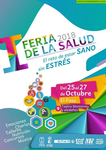 El municipio de El Paso celebra su 'I Feria de la Salud' del 25 al 27 de octubre