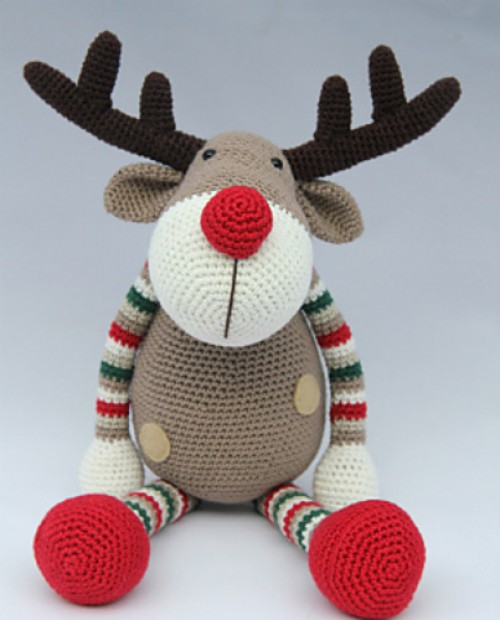 Rendier Ralf - Crochet Pattern