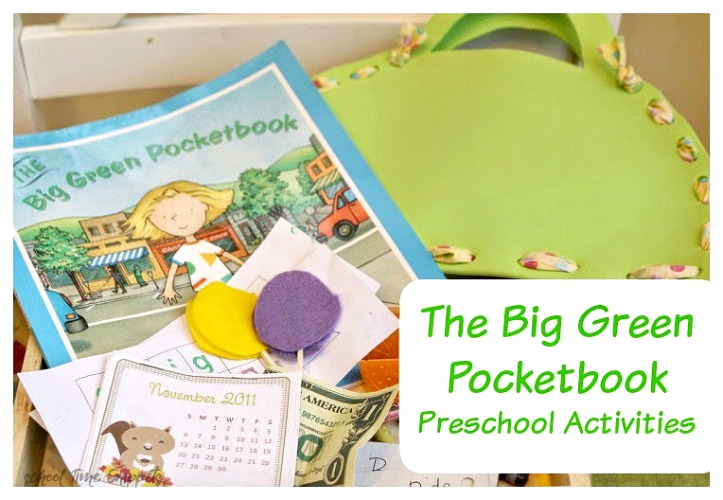 the big green pocketbook activities